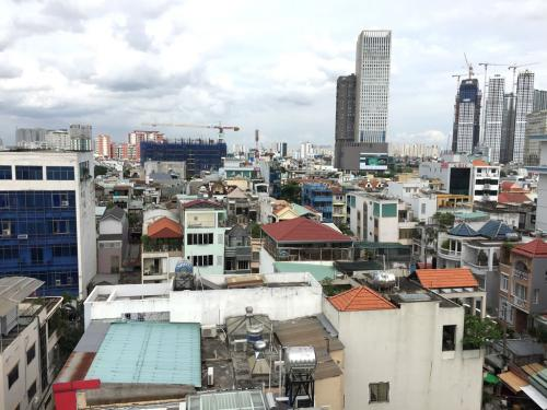 View từ sân thượng